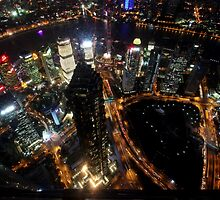 From the World Financial Centre, Pudong, Shanghai by DaveLambert
