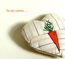 Carrot Heart by Bozena Wojtaszek