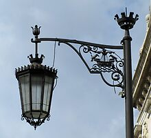 Lisbon street lamp by juliedawnfox