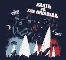 Earth vs. The Invaders Kids Clothes