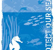 Protect our seas by Konstantinos Arvanitopoulos