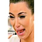 Kim Kardashian Crying by BlancaMF
