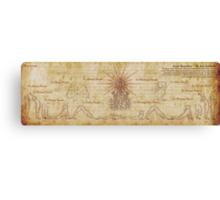 Suryanamaskar – The Sun Salutation Canvas Print
