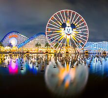 Disneyland World of Colors Panoramic photo by Jerome Obille