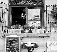 Romantic Coffee Stop by Andrea  Muzzini
