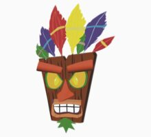 Crash Bandicoot Aku Aku by hydekoala