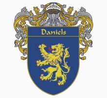 Daniels Coat of Arms/Family Crest by William Martin