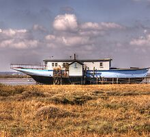 House Boat by Nigel Bangert