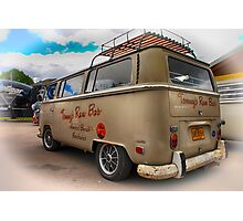 Tommys rum bar Bus Photographic Print