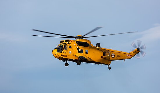 RAF Search and Rescue Helicopter by JASPERIMAGE