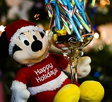 Mickey Mouse Christmas themed photo by Jerome Obille