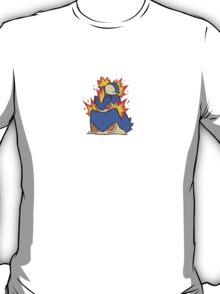 Cyndaquil, Quilava, Typhlosion Ragepile T-Shirt