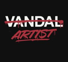 Artist Not Vandal (v1) by smashtransit