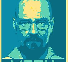 Breaking Bad - Walt Meth Blue by xQasadiOx