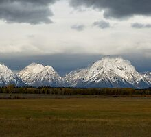 Thunder in Jackson Hole by Wynn Winberg
