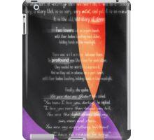 Carolina Crown 2013 - Lovers on a Park Bench iPad Case/Skin