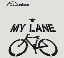 Cycling T Shirt - My Lane by ProAmBike