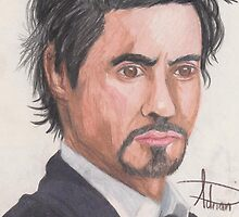 ROBERT DOWNEY JR. by acillustrations
