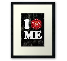 I D20 Maine Framed Print