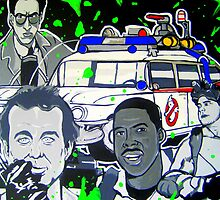 ghostbusters slimed painting by gjniles