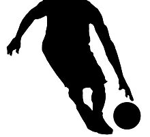 Basketball Dribble Silhouette by kwg2200