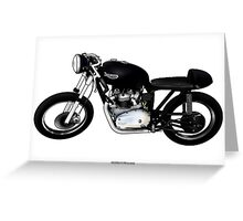 Triumph Illustrations by Anthony Armstrong Greeting Card