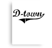 D-Town Canvas Print