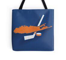 New York Islanders Minimalist Print Tote Bag