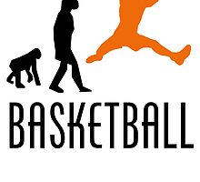 Basketball Rebound Evolution (Orange) by kwg2200