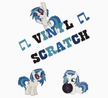 My Little Pony - Vinyl Scratch (Light Shirt) by BlueBeasts