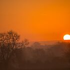 Sunrise on a misty morn. by naranzaria
