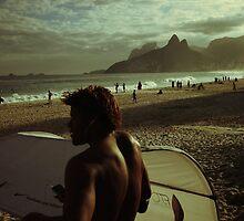 Ipanema Beach by hausofsilva
