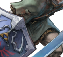 Link with sword Sticker