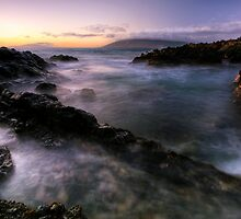 Drifting light, Maui by Michael Treloar
