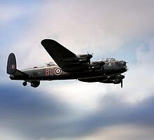 Avro Lancaster Bomber by James Biggadike