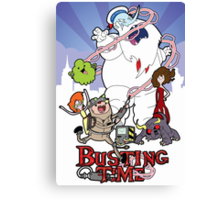 Busting Time Canvas Print