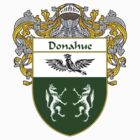 Donahue Coat of Arms/Family Crest by William Martin
