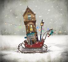 'Moving House'  by Matylda  Konecka Art
