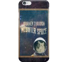 Journey Through Meowter Space iPhone Case/Skin