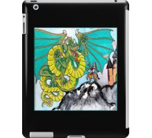 facing your fear (square) iPad Case/Skin