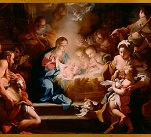 The Adoration of the Shepherds, 1720 by Nymza
