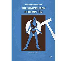 No246 My THE SHAWSHANK REDEMPTION minimal movie poster Photographic Print
