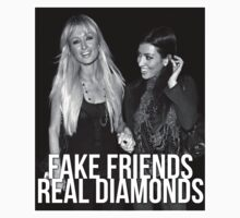 "Paris Hilton & Kim Kardashian ""FAKE FRIENDS, REAL DIAMONDS by pablacito"