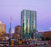Fremont Street Exit Bay Bridge by David Denny