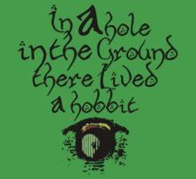 In a hole, in the ground by ScottPilgrimage