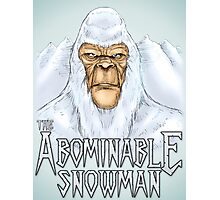 The Abominable Snowman Photographic Print