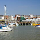 Bridlington Harbour Scene 02 by Rod Johnson