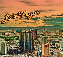 Vegas Postcard by JennarationX