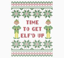 Get Elfd Up Buddy Elf Ugly Christmas Sweater by xdurango