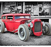 Classic Hot Rod by Thomas Young